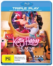 Katy Perry: Part Of Me (Blu-ray + DVD + Digital Copy) | Blu-ray/DVD