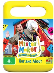 Mister Maker Comes To Town - Out And About | DVD