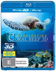 Coral Reef: (3D + 2D Blu-ray)