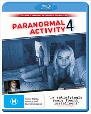Paranormal Activity 4 | Blu-ray