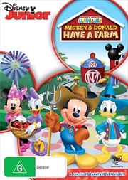 Mickey Mouse Clubhouse - Mickey and Donald Have A Farm | DVD