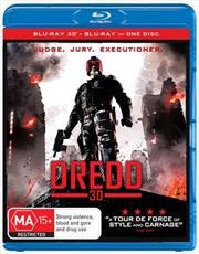 Dredd | 3D + 2D Blu-ray