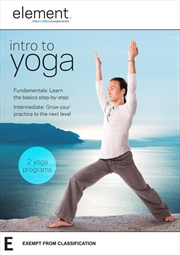 Element - Intro To Yoga | DVD