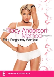 Tracy Anderson Method, Post Pregnancy Workout
