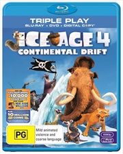 Ice Age 4 - Continental Drift | Blu-ray + DVD + Digital Copy