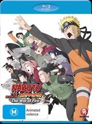 Naruto Shippuden - Movie 3 - The Will Of Fire | Blu-ray