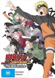 Naruto Shippuden - Movie 3 - The Will Of Fire