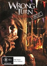 Wrong Turn 5   DVD