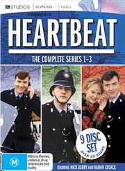 Heartbeat - Series 1-3 | Boxset | DVD
