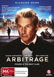 Arbitrage | DVD
