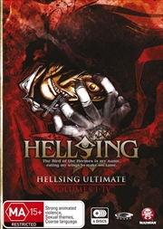 Hellsing Ultimate - Collection 1 - Eps 1-4 | DVD