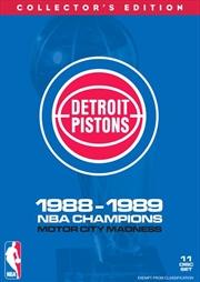 NBA: Detroit Pistons 1988-89 Champions Boxset