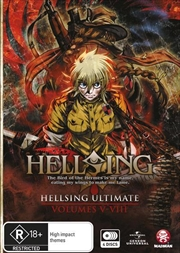 Hellsing Ultimate - Collection 2 - Eps 5-8 | DVD