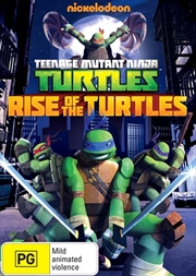 Teenage Mutant Ninja Turtles - Rise Of The Turtles | DVD