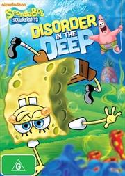 Spongebob Squarepants - Disorder In The Deep   DVD