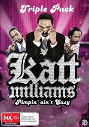 Katt Williams: Pimpin' Ain't Easy Triple Pack   DVD