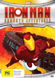 Iron Man Armored Adventures - The Makluan Ring Saga - Annihilation | DVD