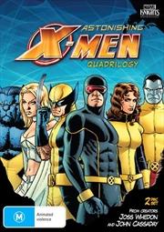Astonishing X-Men Quadrilogy | DVD