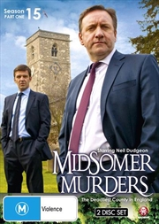 Midsomer Murders - Season 15 - Part 1 | DVD