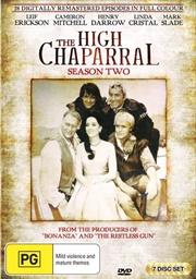 High Chaparral - Season 2, The | DVD