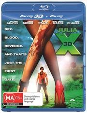 Julia X | 3D + 2D Blu-ray