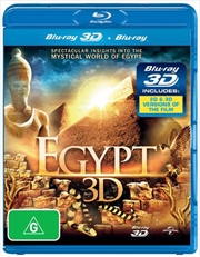 Egypt (3D + 2D Blu-ray)