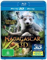 Madagascar 3D (3D + 2D Blu-ray)