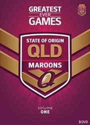 NRL: State Of Origin: Greatest Ever Games: Queensland