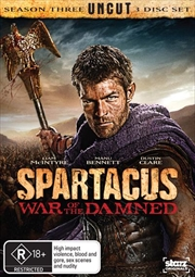 Spartacus - War Of The Damned - Season 3 | DVD