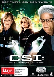 CSI: Crime Scene Investigation - Season 12 | DVD