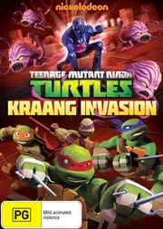 Teenage Mutant Ninja Turtles - Kraang Invasion | DVD
