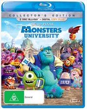 Monsters University - Collector's Edition | Blu-ray + Digital Copy