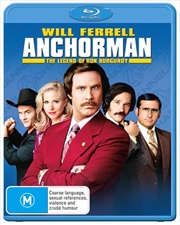 Anchorman - The Legend Of Ron Burgundy | Blu-ray