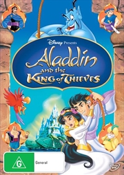 Aladdin And The King Of Thieves | DVD