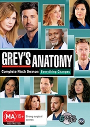 Grey's Anatomy - Season 09 | DVD