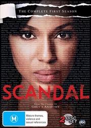 Scandal - Season 1 | DVD