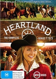 Heartland - Series 1-5 | Boxset