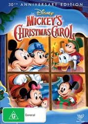Mickey's Christmas Carol - 30th Anniversary Special Edition | DVD