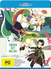 Sword Art Online - Aincrad - Vol 3 - Part 1 - Eps 15-19