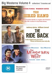 Big Westerns - Vol 4 | Triple Pack - The Hired Hand, The Ride Back, The Meanest Men In The West