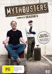 Mythbusters - Season 6 | DVD
