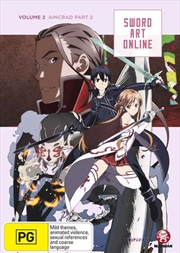 Sword Art Online - Aincrad - Vol 2 - Part 1 - Eps 8-14 | DVD