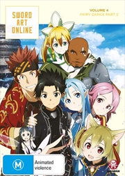 Sword Art Online - Fairy Dance - Vol 4 - Part 2 - Eps 20-25 | DVD