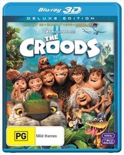 Croods | 3D + 2d Blu-ray + DVD + UV, The