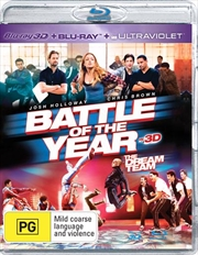 Battle Of The Year - The Dream Team | 3D + 2D Blu-ray + UV