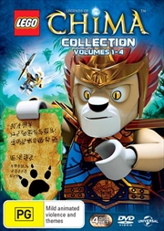 LEGO - Legends Of Chima - Vol 1-4 | Quadruple Pack