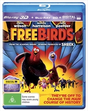 Free Birds | 3D + 2D Blu-ray + UV