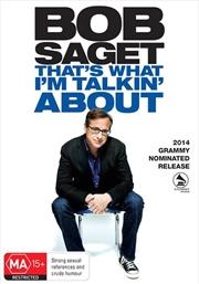 Bob Saget - That's What I'm Talking About   DVD