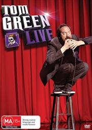Tom Green: Live   DVD