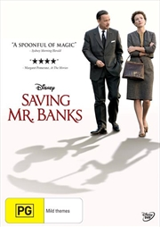 Saving Mr Banks | DVD
